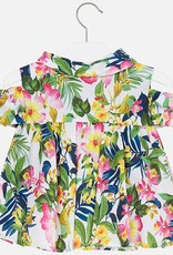 Mayoral Mayoral Tropical Tunic w/ Open Shoulder