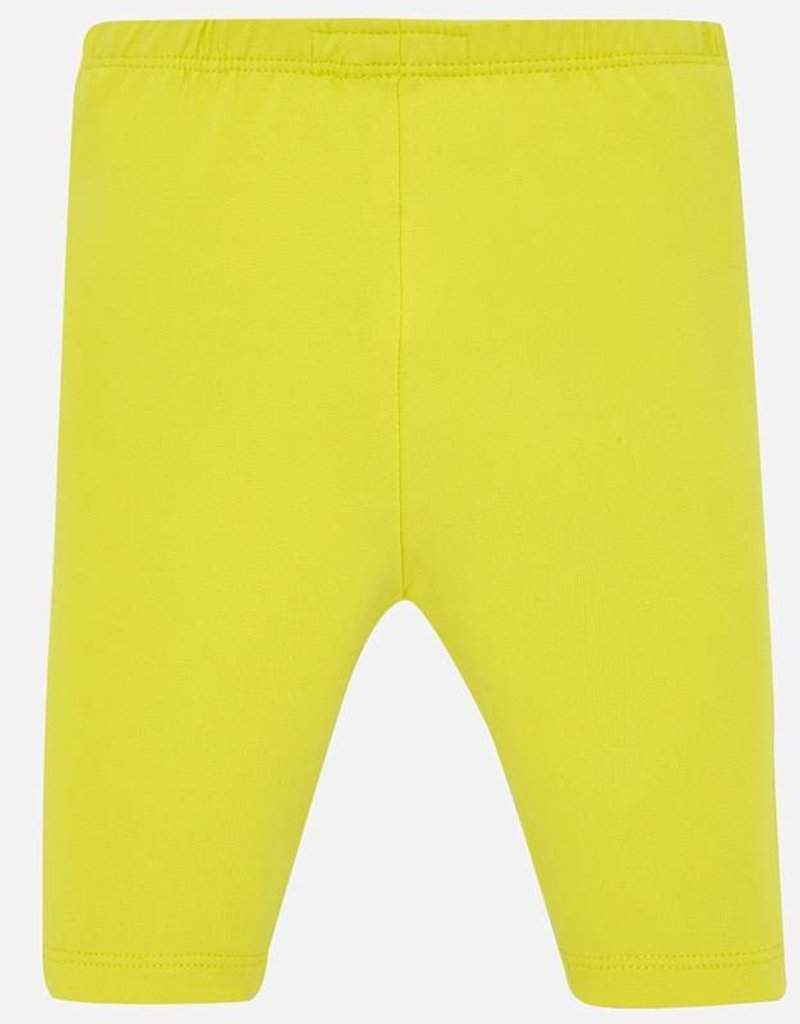 Mayoral Mayoral Yellow Cropped Leggings