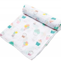 Angel Dear Angel Dear Bamboo Swaddle Blanket- Sprinkles