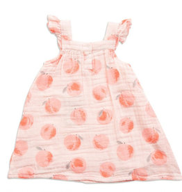 Angel Dear Angel Dear Peachy Muslin Sundress