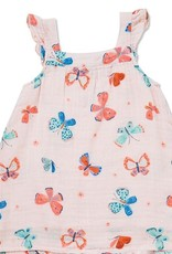 Angel Dear Angel Dear Butterflies Muslin Sundress