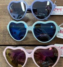 Teeny Tiny Optics Teeny Tiny Optics-Zoe Heart Sunglasses