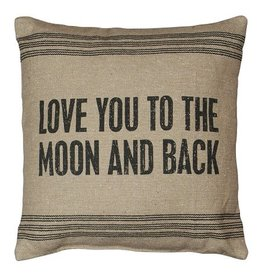 Primitives Love You To The Moon Pillow