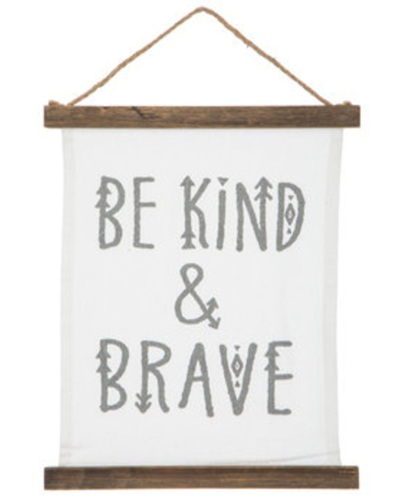 Be Kind & Brave Banner