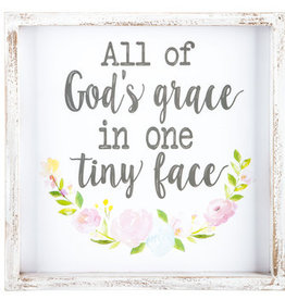 Hello Baby All of God's Grace Sign