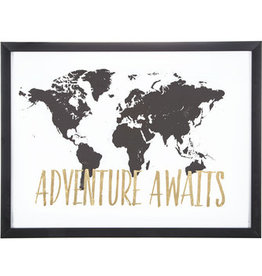 Hello Baby Adventure Awaits Map Picture