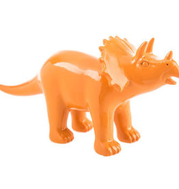 Hello Baby Dino Figure- Orange Triceratops