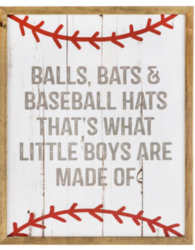 Baseball Boys Room Sign
