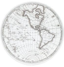 Round Map Canvas