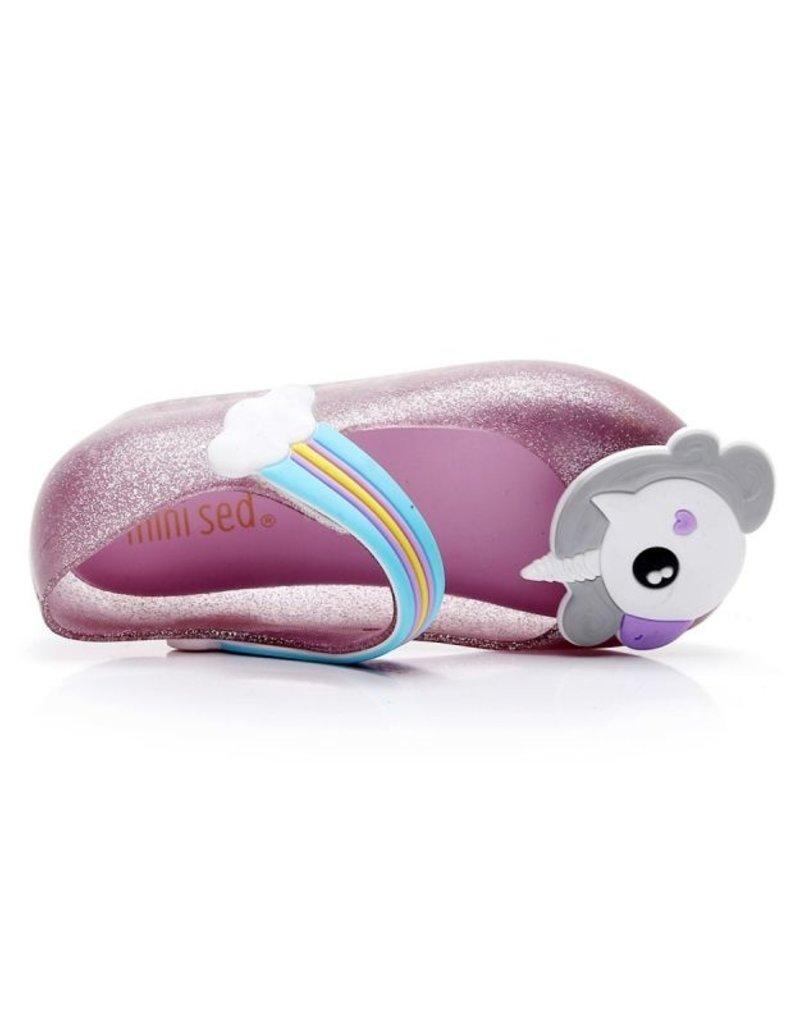 Baby Kiss Unicorn Jelly Slip On Mary Jane Shoes