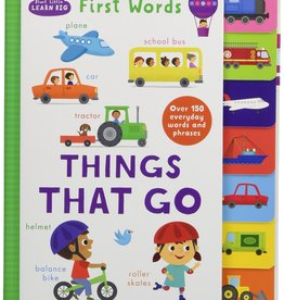 Hello Baby First Words Things That Go Book