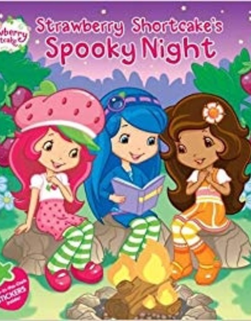 Strawberry Shortcake- Spooky Night Book