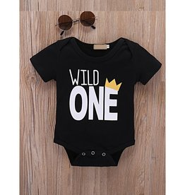Baby Kiss Wild One Onesie