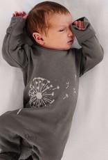 Lovedbaby Lovedbaby Organic Grey Full Dandelion Footie