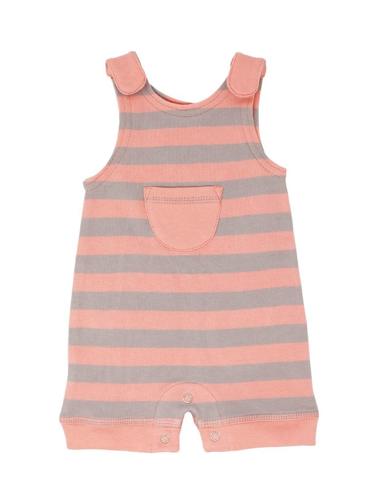 Lovedbaby Lovedbaby Striped Organic Sleevless Romper