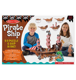 Melissa and Doug Pirate Ship 3-D Puzzle