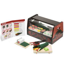 Melissa and Doug Sushi Counter 46 pc. Set