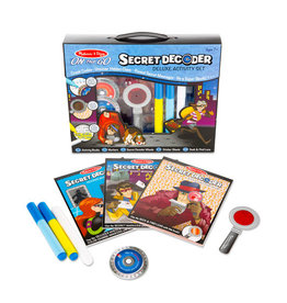 Melissa and Doug Secret Decoder Activity Set