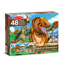 Melissa and Doug Land of Dinosaurs Puzzle 48 pc.