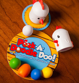 Fat Brain Toys Peek-A-Doodle-Doo Chicken Game