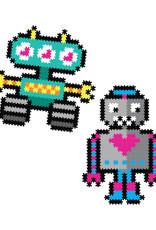Fat Brain Toys Jixelz 700 pc. Roving Robots