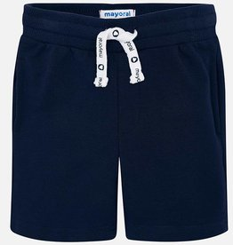 Mayoral Mayoral Basic Fleece Shorts- Navy