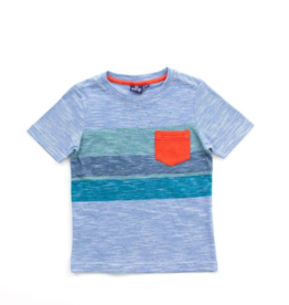 Bear Camp Bear Camp Boys Blue & Green Ethan Tee