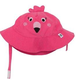 zoochini Zooochini Sun Hat- Flamingo