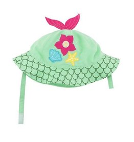 zoochini Zoochini Sun Hat- Mermaid