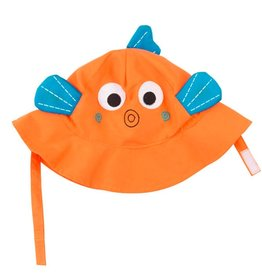 zoochini Zoochini Sun Hat- Fishy
