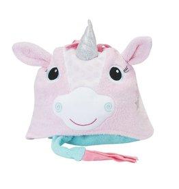 zoochini Zoochini Hooded Towel- Alicorn