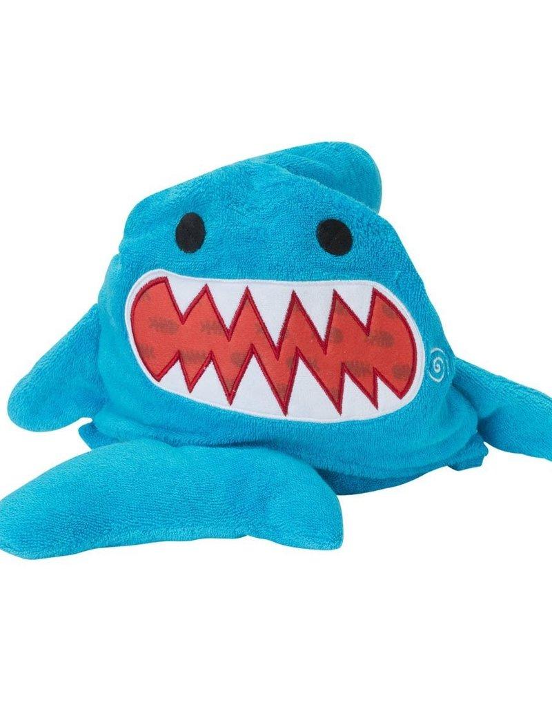 zoochini Zoochini Hooded Towel- Sharky