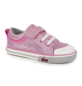 See Kai Run Kristin Pink Glitter Sneaker