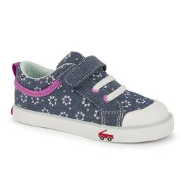 See Kai Run Kristin Chambray Flowers Sneaker
