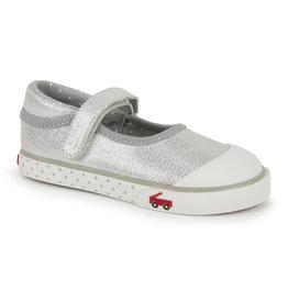 See Kai Run Marie Silver Sneaker