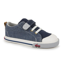 See Kai Run Stevie Blue Denim Sneaker