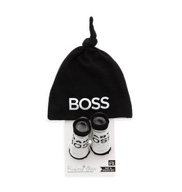 Kelli's Gifts Baby Boss Hat & Sock Set