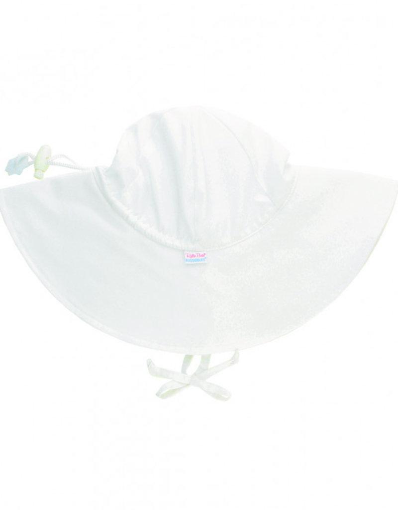 RuffleButts/RuggedButts White Sun Protective Hat