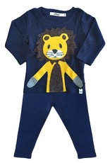Oh Baby! Oh Baby! Navy Lion 2 pc. set