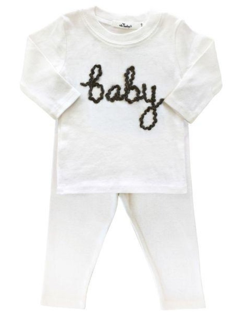 Oh Baby! Oh Baby! Charcoal Baby 2 pc. Set