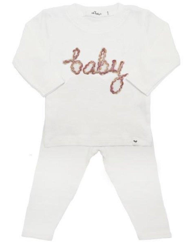 Oh Baby! Oh Baby! Blush Baby 2 pc. Set.