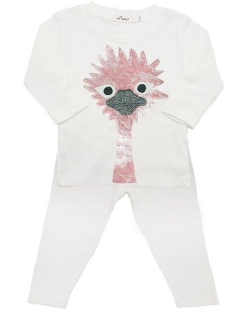 Oh Baby! Oh Baby! Blush Odette 2 pc. Set