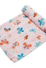 Angel Dear Butterflies Swaddle Blanket