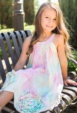 isobella & chloe Isobella & Chloe Tye-Dye Bottom Flower Dress