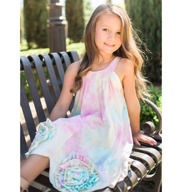 isobella & chloe Isobella & Chloe Tye-Dye Bottom Flower Dress