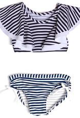 isobella & chloe Isobella & Chloe Navy Stripe Bikini