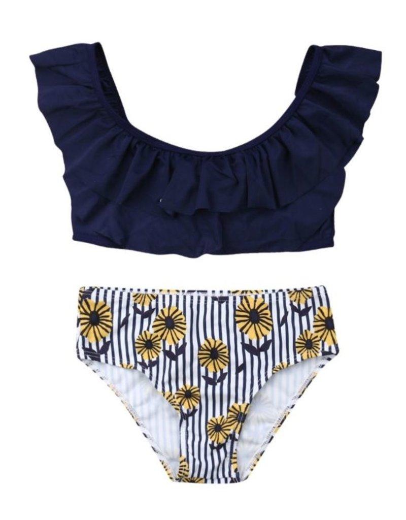 Baby Kiss Navy & Daisy Bikini