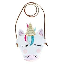 Baby Kiss Unicorn Head Pouch Purse