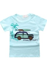 Baby Kiss 2 Pack Tees- Car & Stripe