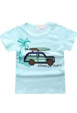 Baby Kiss 2 Pack Tees- Car & Stripe